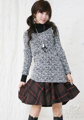 20-30年龄段MM针织衫最美混搭